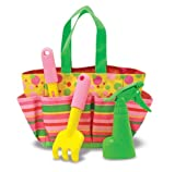 Melissa & Doug Sunny Patch Blossom Bright Tote Set