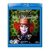 Image de ALICE W'LAND DBLPLAY (T BURTON) HMV&PLAY [Blu-ray]