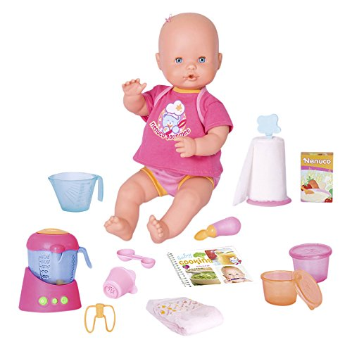 Nenuco 700013300 – Merienditas, muñeca con accesorios