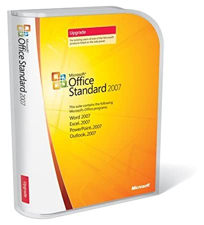 Microsoft Office Standard 2007 UPGRADE [Old Version]