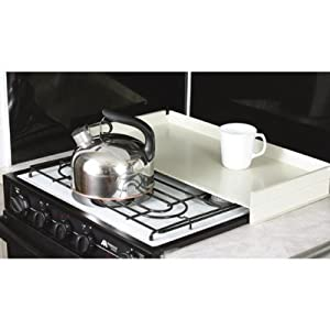 Protective stove top cover rv stove cover and - Oven splash guard ...