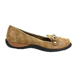 Vionic Alda Womens Leather Loafer Saddle Lizard - 8 Wide