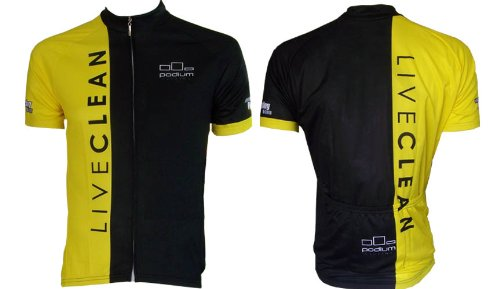 Image of LIVECLEAN Cycling Jersey (B005J6AV4U)