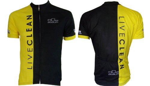 Buy Low Price LIVECLEAN Cycling Jersey (B005J6AV4U)