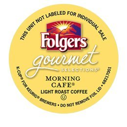 Folgers Gourmet Selections Morning Cafe K Cup Coffee 96 Count