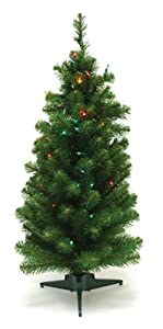 #!Cheap Good Tidings 96270 Tree Tabletop Canadian PVC 50 Multi-Colored Lights 145 Tips, 36-Inch
