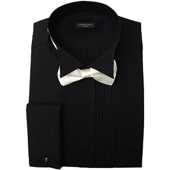 41ctkzqyuwl sx342 jpg for Black pleated dress shirt