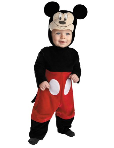 Baby-boys - Mickey Toddler Costume 12-18 Months Halloween Costume