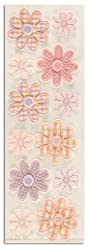 Martha Stewart Crafts Stickers Applique Flower Pink/Lavender By The Package