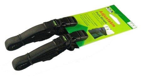 ROK Straps 12'-42' Adjustable Loop-Thru -2Pk BLACK
