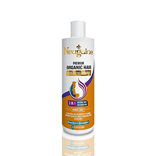 Neugaine Premium Organic Hair Loss Shampoo, 3