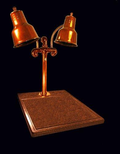 Hanson brass dlm ti sc carving station dual bulb heat