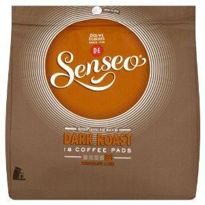 Purchase Home Essential Douwe Egberts Senseo Dark Roast Coffee 18 Pads (Pack of 5 Total 90 Pads) - Douwe Egberts Senseo