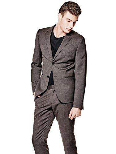 GUESS Mens Broadway Ultra-Skinny Blazer