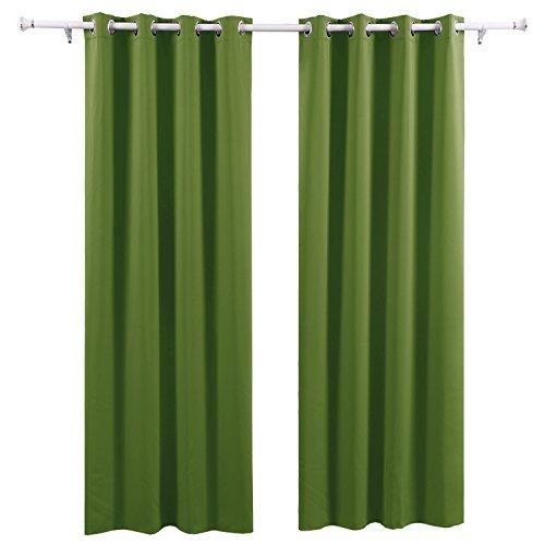 Deconovo-Vorhang-Blickdicht-sen-Vorhang-Kinderzimmer-Thermogardine-sen-175x140-cm-Apfelgrn-2er-set