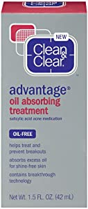 Clean & Clear Advantage Oil-Absorbing Treatment, 1.5 Ounce