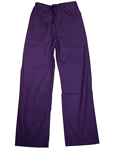 Natural Uniforms - Ladies Scrub Pants, Purple 35984-Medium (Natural Uniforms Scrubs compare prices)