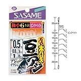 ささめ針(SASAME) ちょい太豆アジ ピンクベイト S-107 針2号 ハリス1号