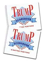 Trump® MG-TRUMP-SB 16 Position Baseball/Softball Scorebook