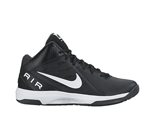 Nike Men's The Air Overplay IX Black/White/Anthracite/Dark Gry Basketball Shoe 9 Men US (Shoes Basketball Men compare prices)