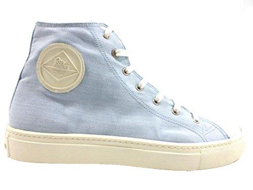 scarpe uomo ROY ROGERS sneakers celeste tessuto AH500 (43 EU)