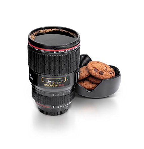 KJB Security Camera Lens Cup, Black