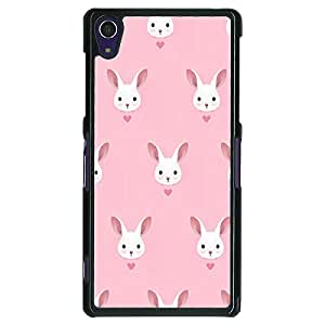 Jugaaduu Rabbit Back Cover Case For Sony Xperia Z1