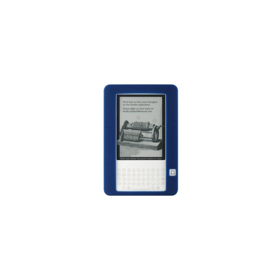 Premium Blue Color Soft Silicone Skin Gel Cover Case for  Ebook Reader Kindle 2