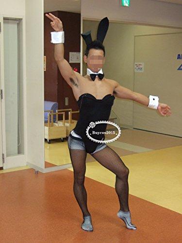 高品質コスプレ衣装■バニーガール*男S-男LLオーダーサイズ可能