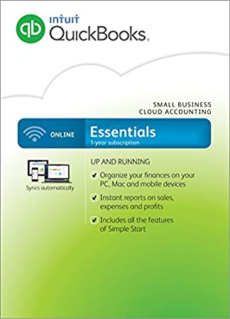 QuickBooks Online Essentials Small Business Accounting (PC/Mac)