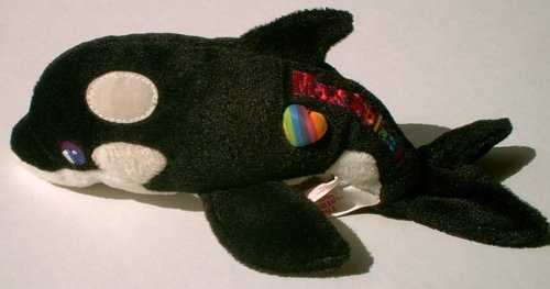 Lisa Frank Beanie Baby Max Splash Killer Whale