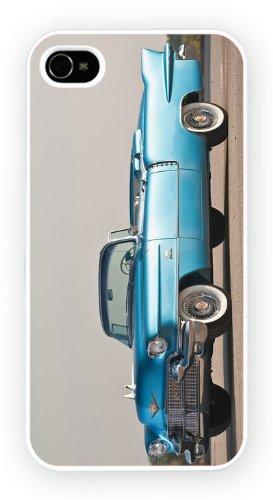Cadillac Eldorado II Convertible Blue, iPhone 4 / 4S cassa del telefono mobile lucido