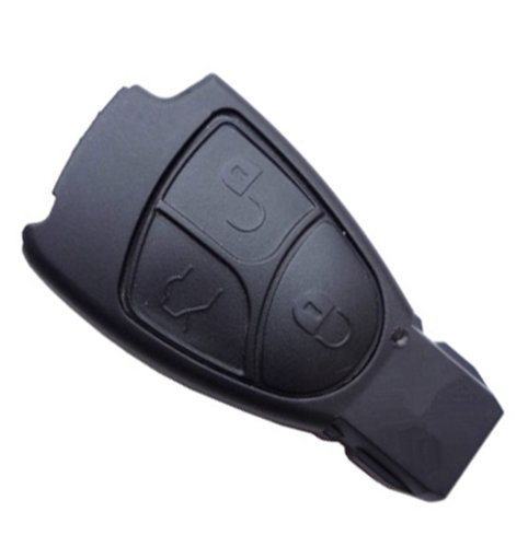 New 3 Button Remote Key Fob Case Shell For 1994 Mercedes-Benz E500,300Sl,500E, 500Sec,500Sel,500Sl,600Sec,600Sel (Just A Empty Key Shell, No Chips Inside) front-263975