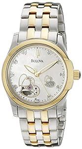 Bulova Women's 98P123 BVA Series Heart Aperture Dial Watch