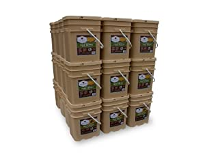 Wise Company 4320 Serving Package (744-Pounds, 36-Buckets) by Wise Company