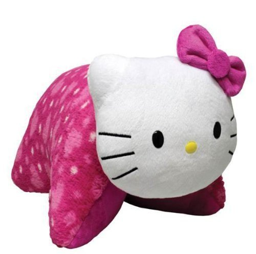 "My Pillow Pets Hello Kitty Plush, 18""/Large - 41CtwnStBxL - My Pillow Pets Hello Kitty Plush, 18″/Large"