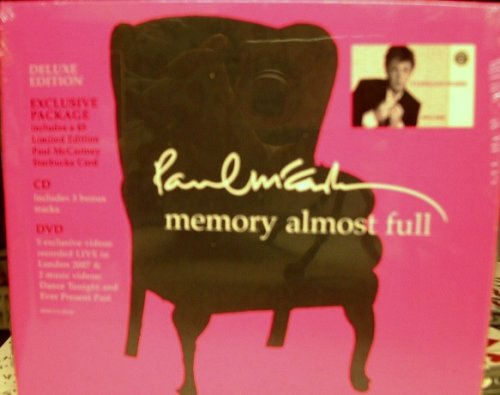 Paul McCartney - Memory Almost Full (Starbucks Limited Special Deluxe Edition with CD and DVD, plus bonus limited edition $5 Paul McCartney Starbucks card) - Lyrics2You