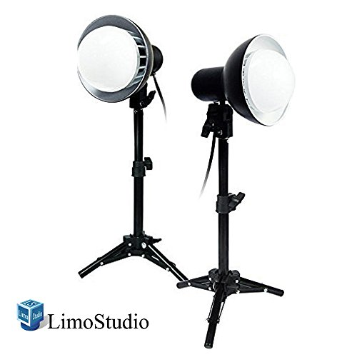 LimoStudio 2 x 18W LED Photography Table Top Photo Studio Lighting Kit , AGG1077 (Led Tabletop Light compare prices)