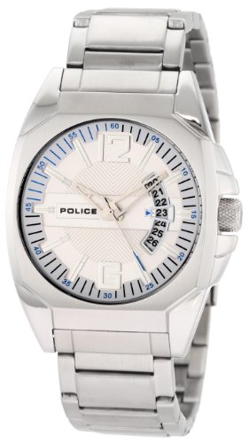 Police Men's Interstate Watch 12897JS/04M with Silver Dial