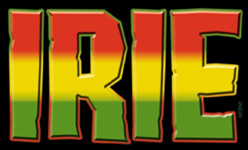 Licenses Products Generic Reggae and Rasta Irie Sticker