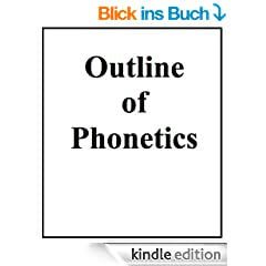 Outline of Phonetics (English Edition)
