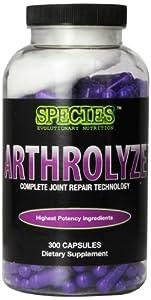 Species Nutrition Arthrolyze, 300-capsule Bottle