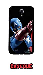 Caseque Tyse Captain America Back Shell Case Cover For Samsung Galaxy S4
