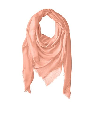 Chan Luu Women's Oversized Cashmere and Modal Scarf, Tropical Peach