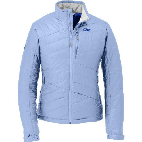 Outdoor Research Women's Breva Jacket (Atmosphere, X-Large)