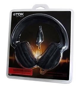 TDK MPi110 Casque avec contrôle voix Noir