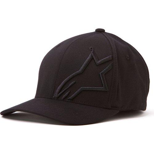 ALPINESTARS CORP SHIFT 2 FLEX FIT HAT BLACK/BLACK LG/XL