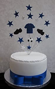 , Everton Football Birthday Cake Topper Suitable For A 20cm Cake ...