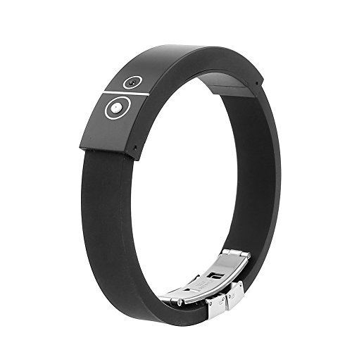 Bluetooth Incoming Call Vibrate Vibrating Alert Anti-Lost Alarm Bracelet Bracelets For Mobile Phone Black
