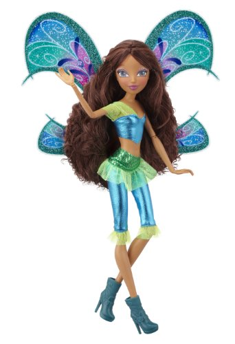 Winx 11.5&quot; Deluxe Fashion Doll Believix - Aisha